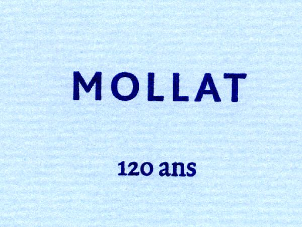 Mollat : 120 ans !