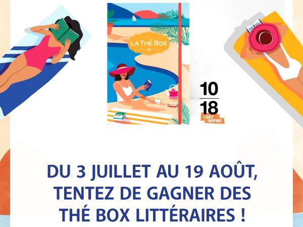 Concours Thé Box 10/18