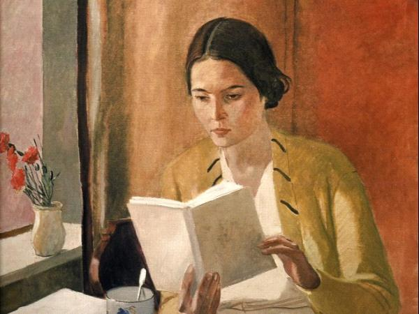Alexandre Deineka, Jeune femme, 1934