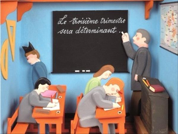 Chagrin d'école - Daniel Pennac - collection Folio