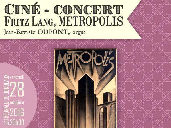 Cinéconcert Metropolis