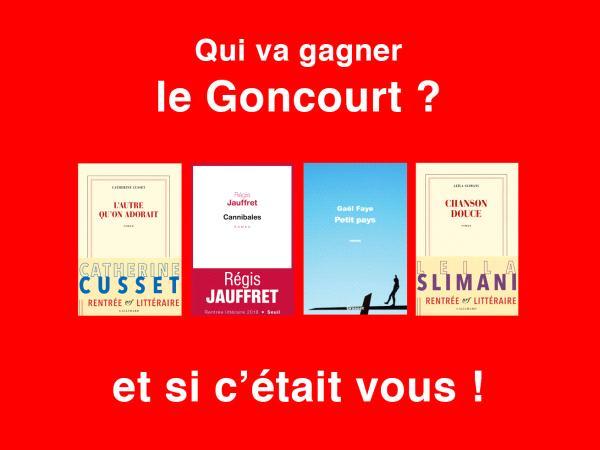 Concours Goncourt ONLALU