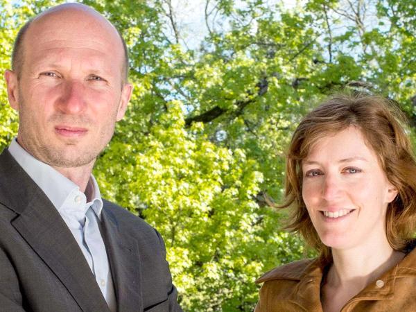 Karine Mauvilly et Philippe Bihouix © Eugénie Baccot