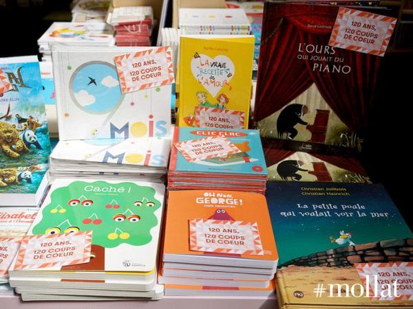 Les 10 coups de coeur d'une taupette, sélection jeunesse pour les 120 ans de la librairie mollat