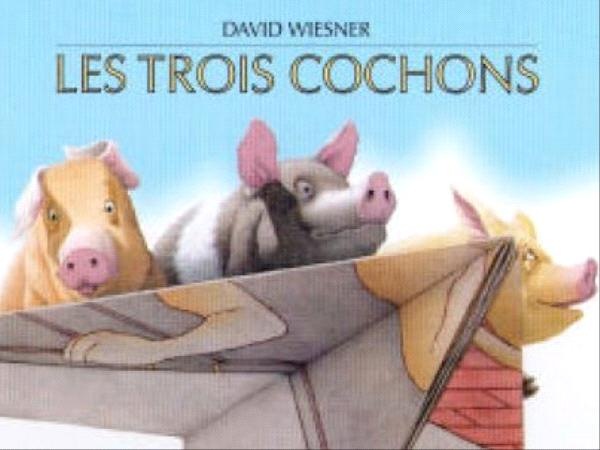 les trois petits cochons - D. Wiesner