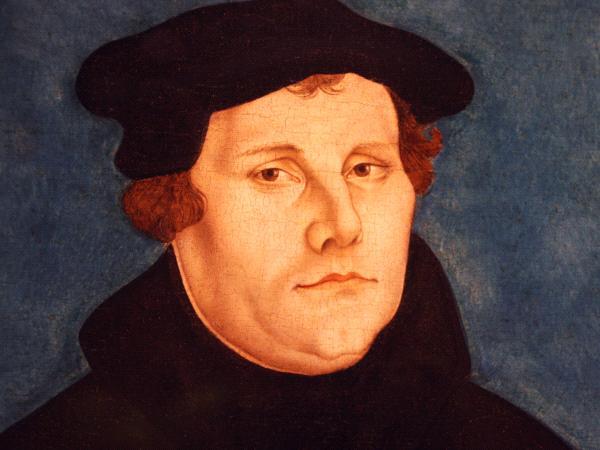 Portrait de Martin Luther par l'atelier Cranch l'Ancien