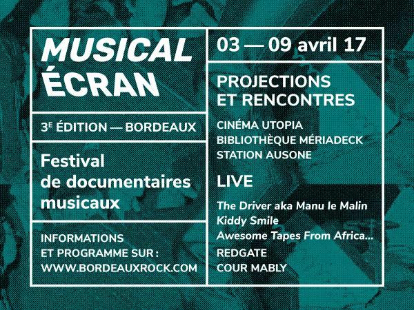 Musical Écran 2017