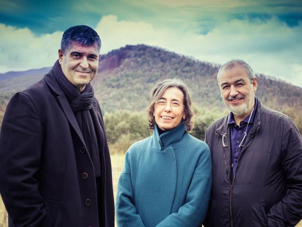Rafael Aranda, Carme Pigem and Ramon Vilalta © Javier Lorenzo Domínguez