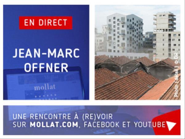 Affiche de la rencontre avec Jean-Marc Offner