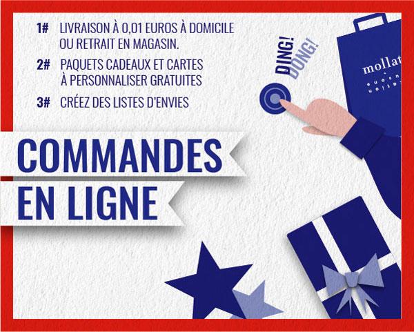 Livraison à 0,01 euros à domicile, paquet cadeau et carte à personnalisée gratuite, retrait en magasin.