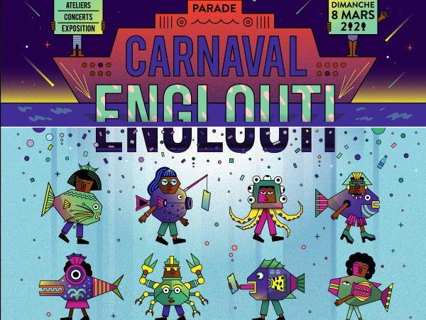 carnaval des deux rives carnaval engloutis bordeaux affiche.png