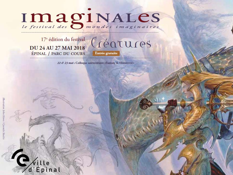 Illustration John Howe / Cyanide Studio pour Les Imaginales d'Epinal