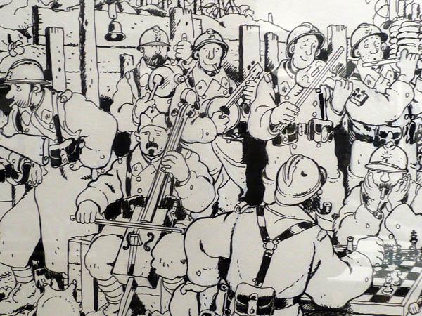 Dessin de Jacques Tardi exposé à l'Historial de la Grande Guerre à Péronne ©Tardi .jpg