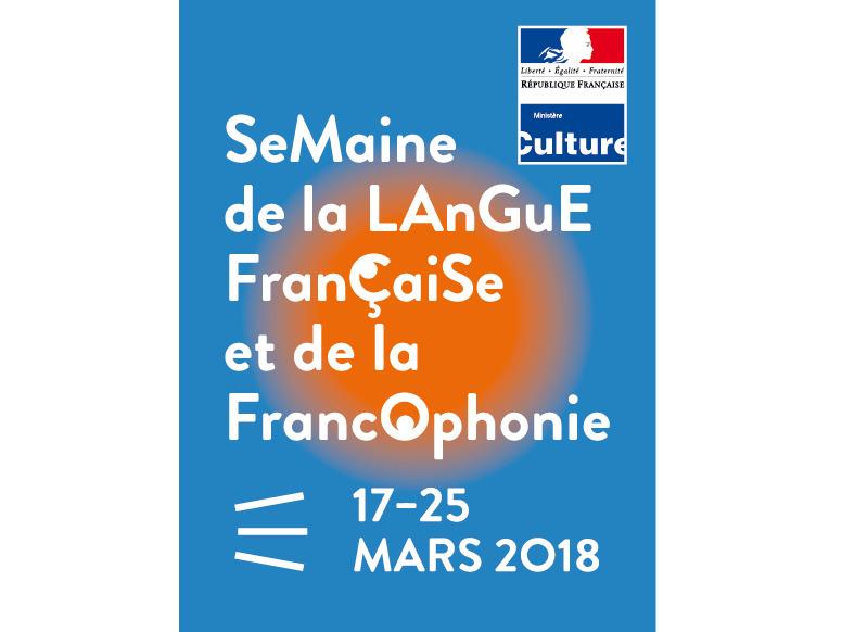 Semaine de la Langue Française ©ministère de la culture / conception graphique : duofluo