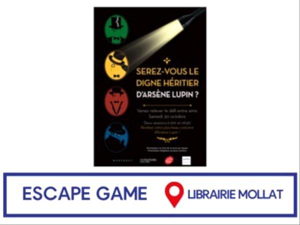 Escape Game Arsène Lupin