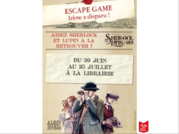 Escape Game Sherlock, Lupin & moi - Partir en Livre 2021.png