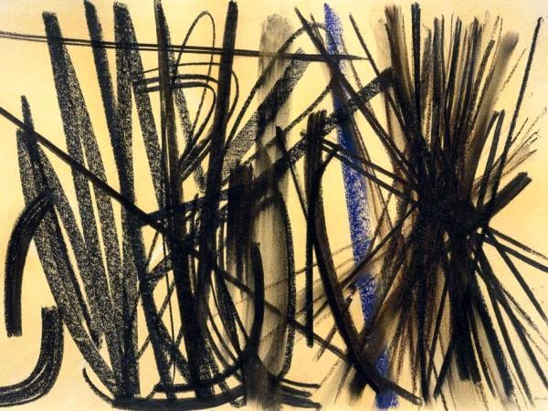 Hans Hartung, Sans titre, 1952, pastel sur papier presse.jpg