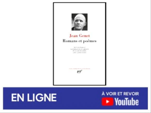 Jean Genet Romans et autres poèmes - événement en ligne mai 2021.png