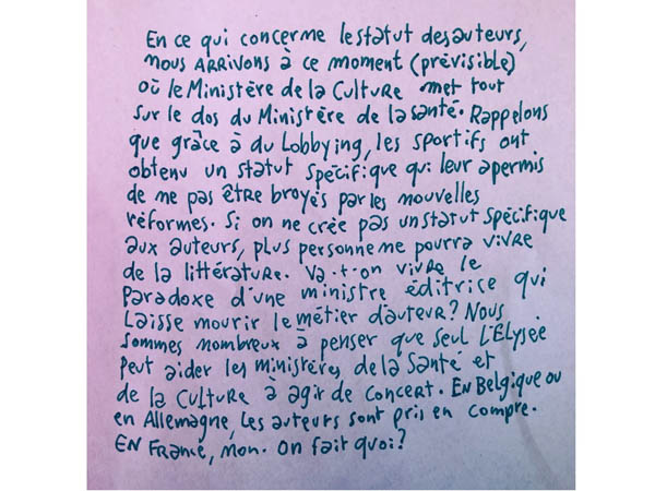 Joann Sfar post #auteursencolère