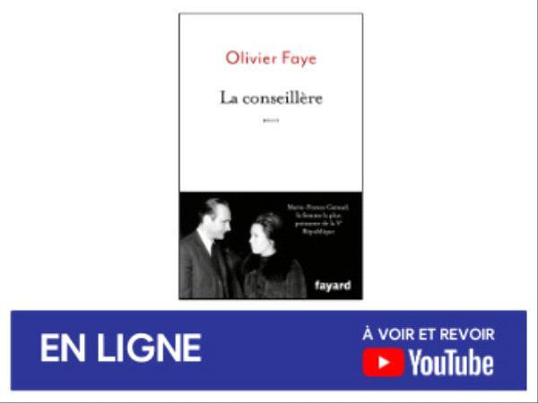 Olivier Faye - La conseillère - rencontre avril 2021