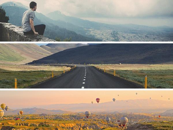 Photos de voyage cahiers de vacances