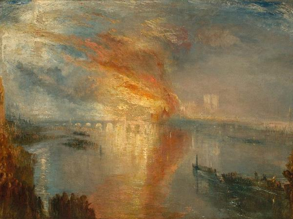 The Burning of th House of parliament, JMW. Turner.jpg