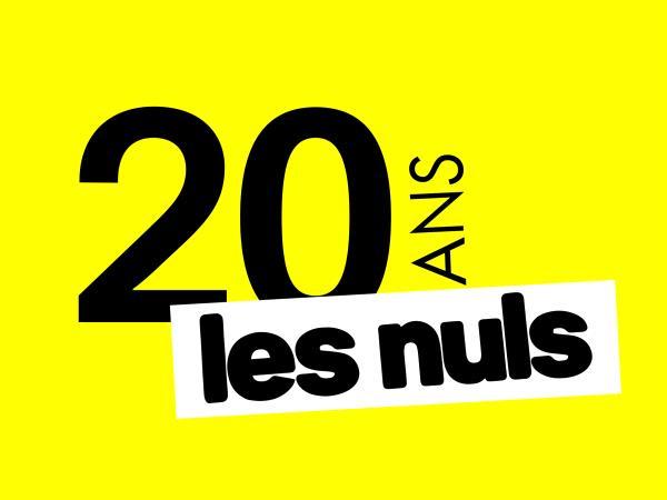 chiffre 20 écrits en noir fond jaune mention les nuls