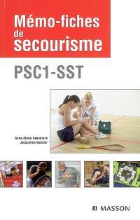 Mémo-fiches de secourisme : PSC 1-SST