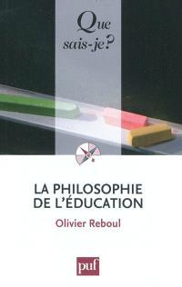 La philosophie de l'éducation