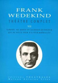 Théâtre complet. Volume 7