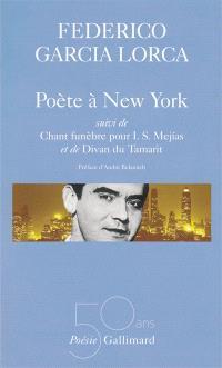 Poésies. Volume 3, Poète à New York *** Chant funèbre pour I.S. Mejias *** Divan du Tamarit