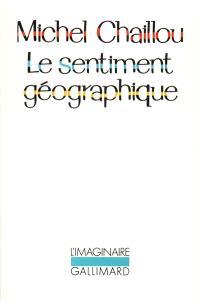 Le Sentiment géographique