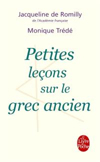 Petites leçons sur le grec ancien