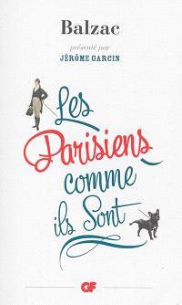 Les Parisiens comme ils sont