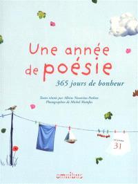 Une année de poésie : 365 jours de bonheur