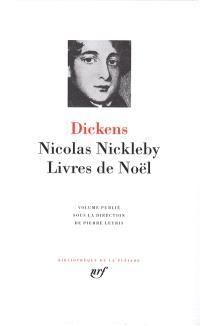 Nicolas Nickleby ; Livres de Noël
