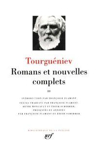 Romans et nouvelles complets. Volume 3