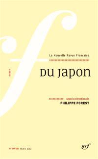 Nouvelle revue française. n° 599-600, Du Japon