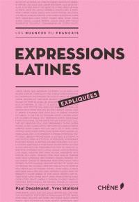 Expressions latines expliquées