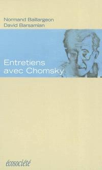 Entretiens avec Chomsky