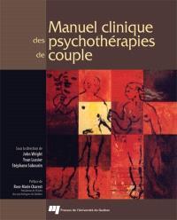 Manuel clinique des psychothérapies du couple
