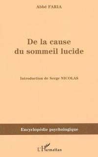 De la cause du sommeil lucide ou Etude de la nature de l'homme (1819)