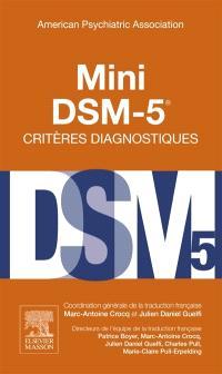 Mini DSM-5, critères diagnostiques