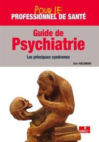Guide de psychiatrie : les principaux syndromes