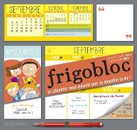 Frigobloc : de septembre 2016 à décembre 2017 : le calendrier maxi-aimanté pour se simplifier la vie !