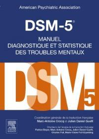 DSM-5, manuel diagnostique et statistique des troubles mentaux