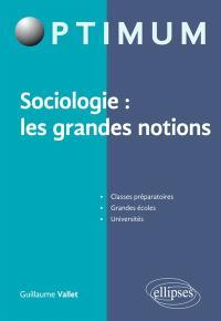 Sociologie : les grandes notions