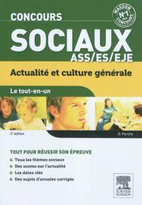 Concours sociaux ASS-ES-EJE : actualité et culture générale