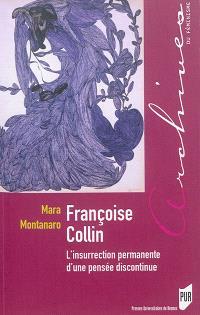 Françoise Collin : l'insurrection permanente d'une pensée discontinue