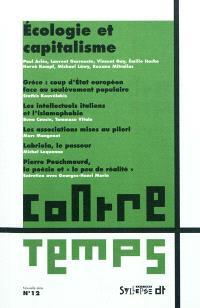 ContreTemps. n° 12, Ecologie et capitalisme